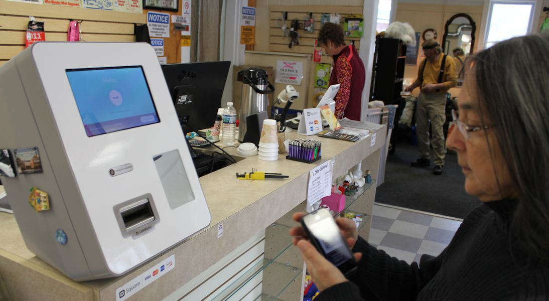 Keene's public bitcoin machine has a lonely birthday – the others have shut down
