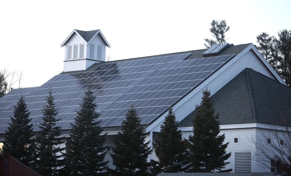 Proctor Academy's large new solar array is a product of technology and finance