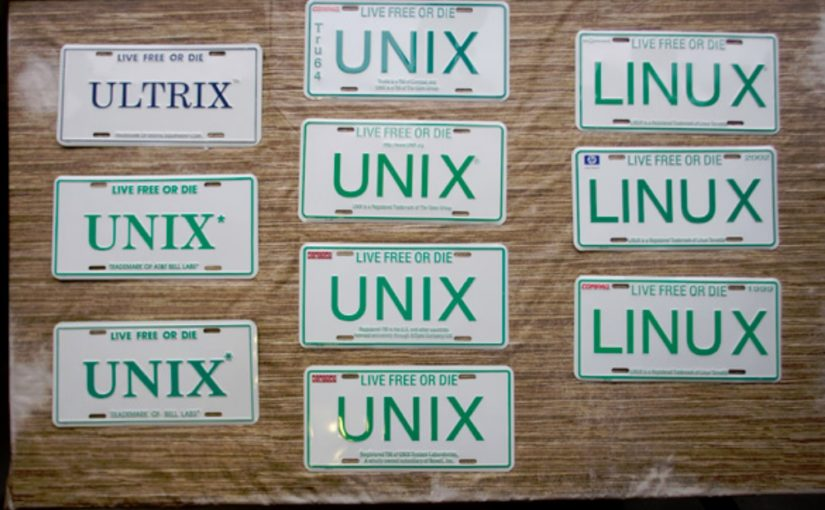Blast from the past: The story of N.H.'s famous Unix license plate