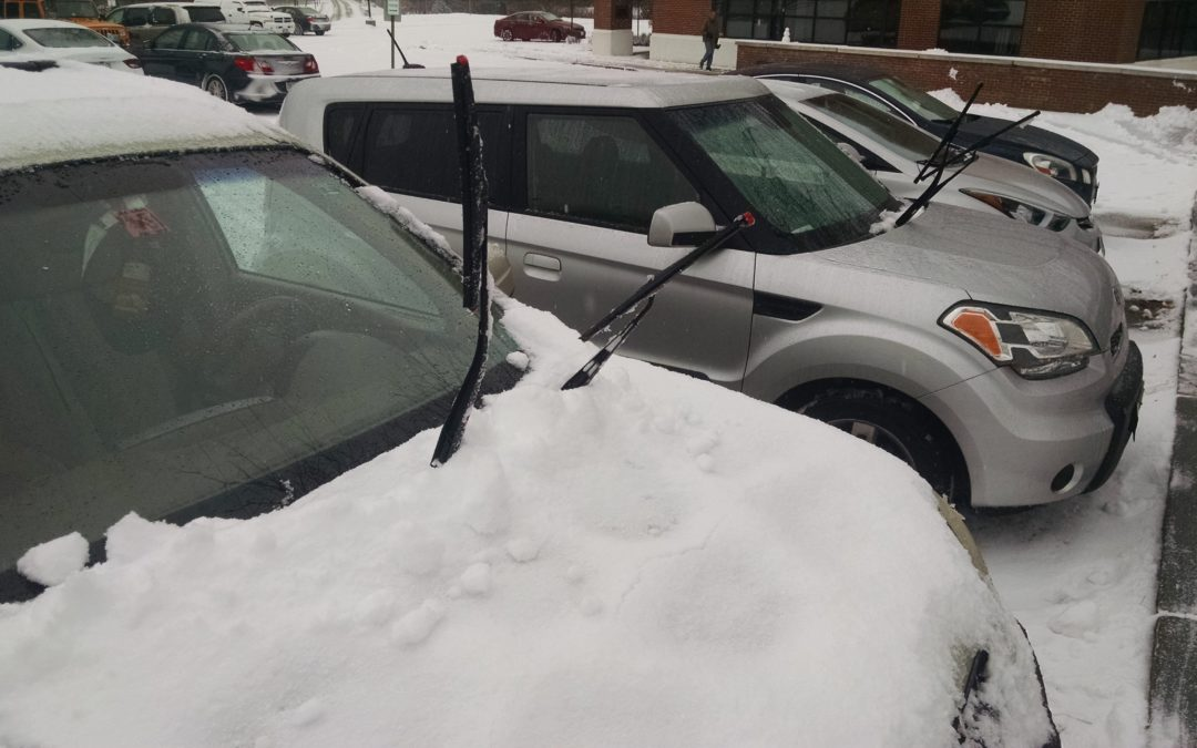 A vital winter question: Wipers up, or wipers down?