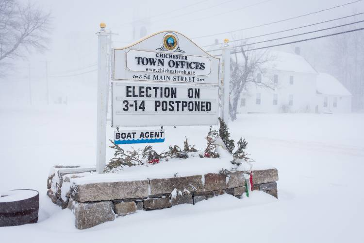 Did moving NH elections due to the storm affect turnout? Let's crunch the numbers …
