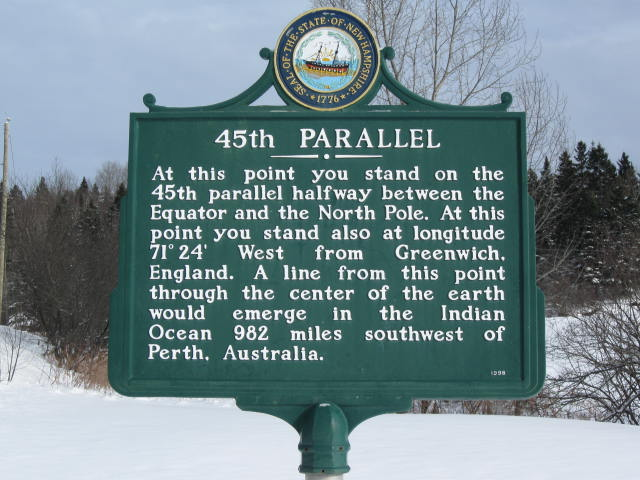 Somewhere in N.H. is halfway between equator and North Pole – just don't ask exactly where