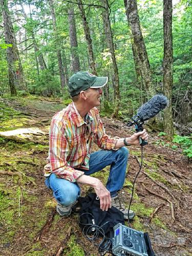 Berklee professor makes audio map of  the White Mountains