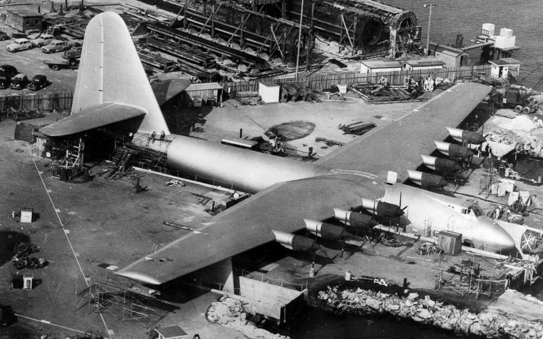 Do you know what the Spruce Goose was? Somebody in our governor's office does