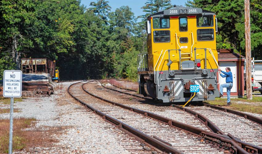 The state's oldest short-line railroad is still running