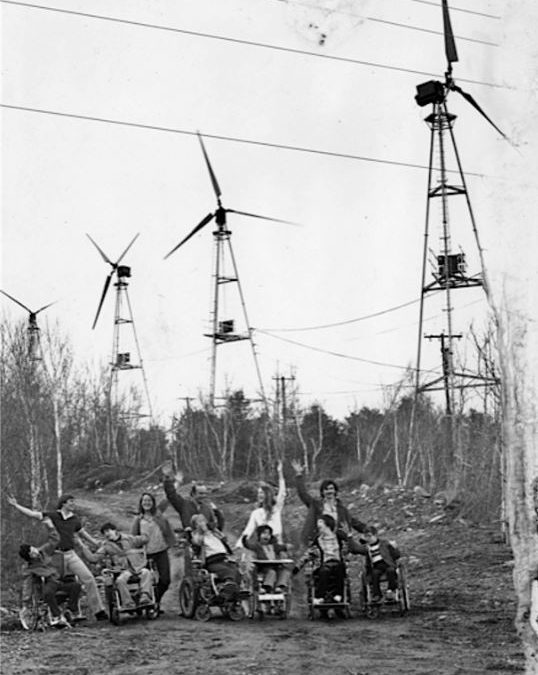 The nation's first real wind farm was in New Hampshire