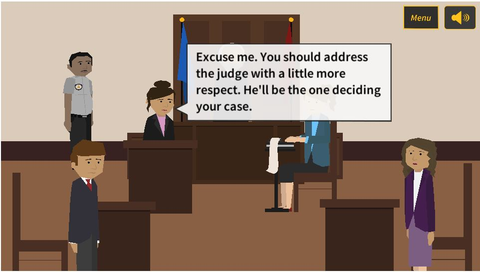 """Gamification"" teaches people how to be their own lawyer"