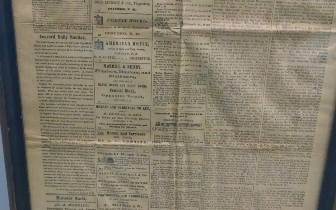 Double-checking a Concord Monitor calculation from 154 years ago