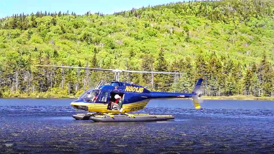Dropping trout from helicopters has become part of the natural process