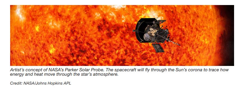 I can't show you the name of the solar-probe program