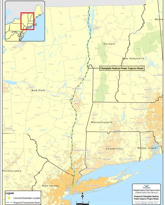 Quebec hydropower coming south – to New York, not New England