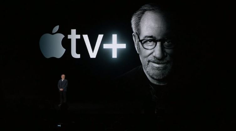 Steven Spielberg under the power of Apple