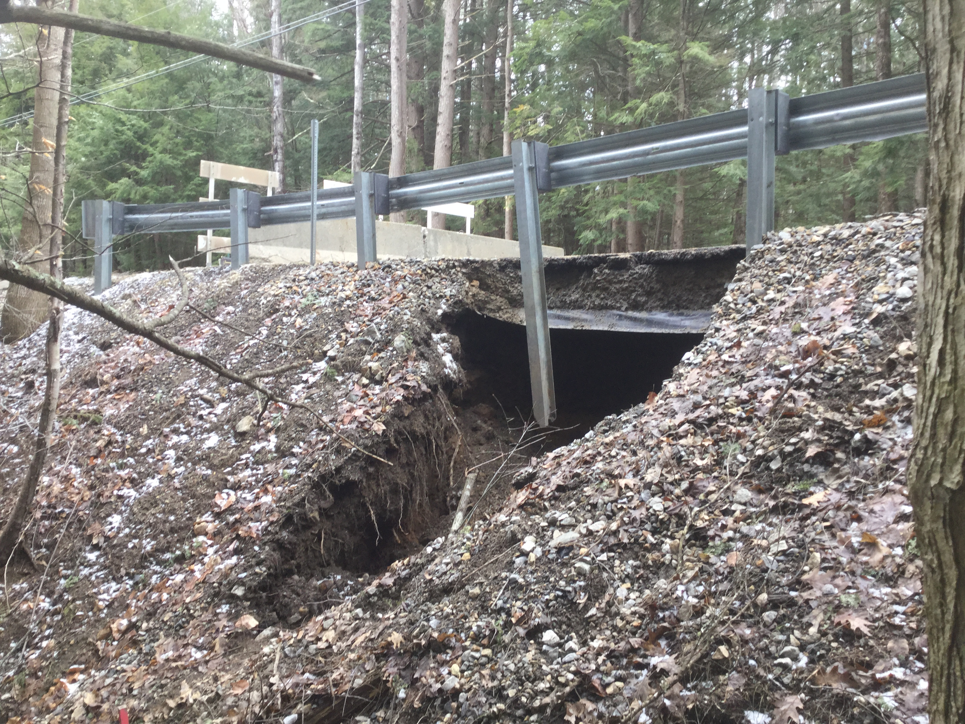 That's a culvert which needs replacing. Photo: City of Concord