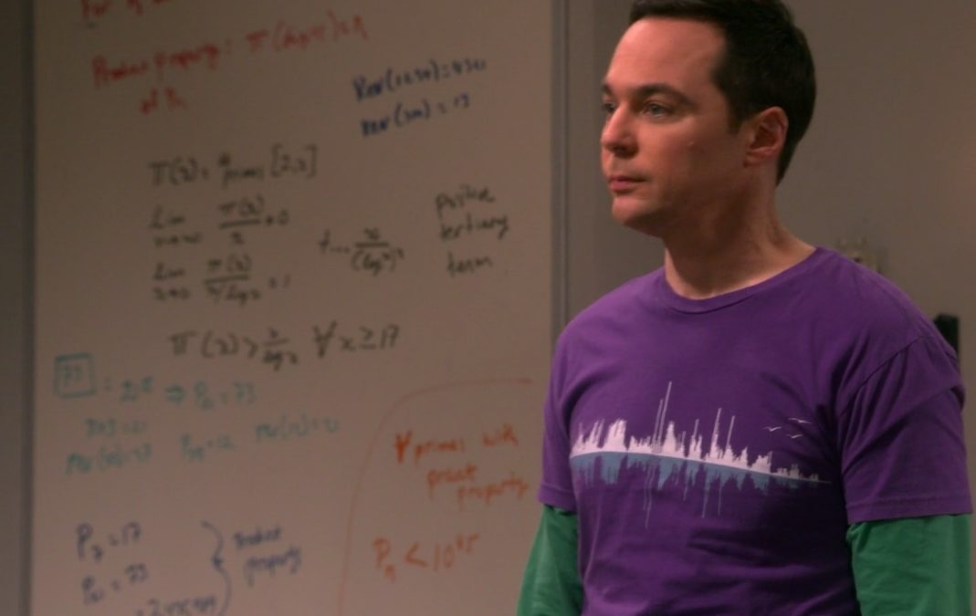 Dartmouth mathematician gets the 'Big Bang Theory' treatment