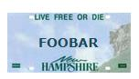 Outrage! FOOBAR can't be used on a vanity plate