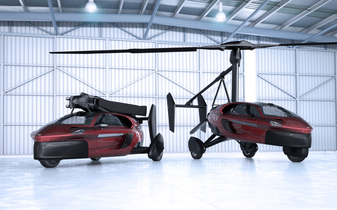 Flying cars! Times two!!