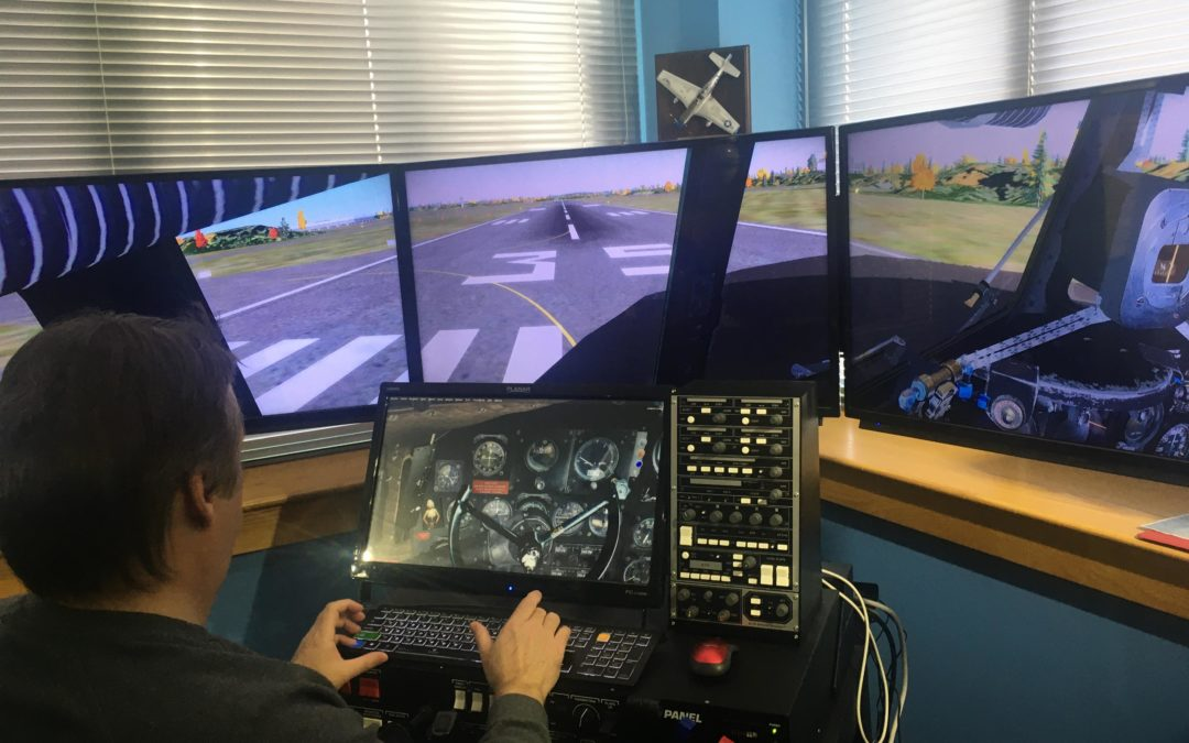 Fly around the world (virtually) in a DC-3