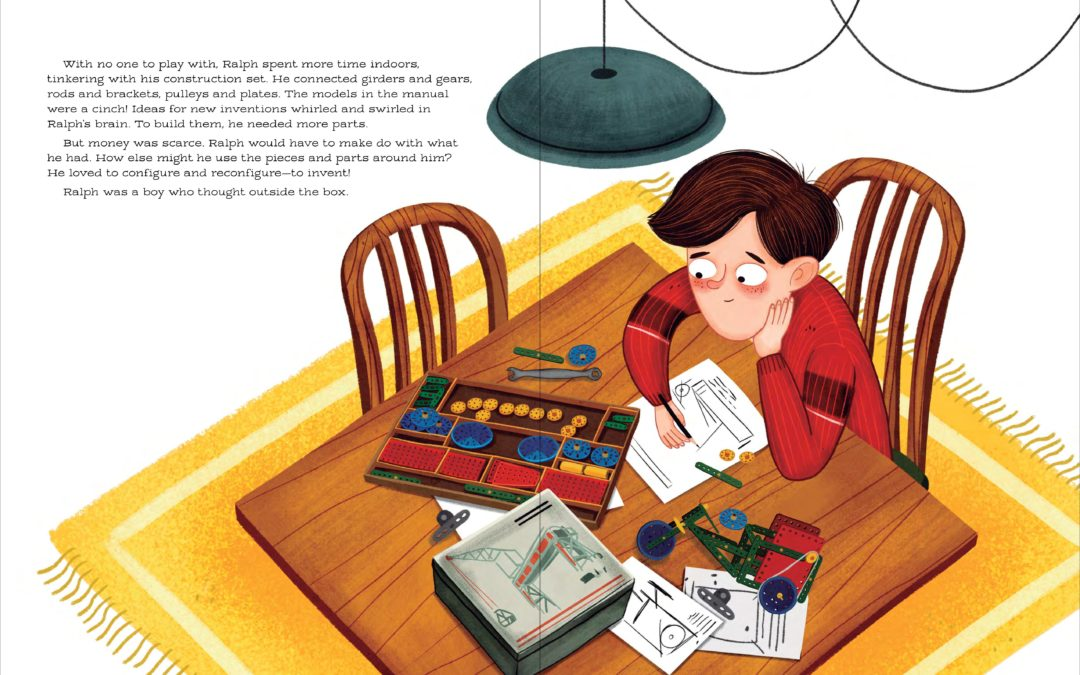 Ralph Baer, video game pioneer, is now a kid's book star