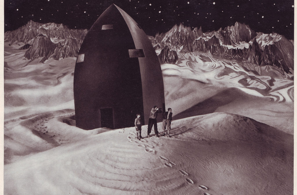 """UFO festival & silent film """"Woman in the Moon"""" (by the guy who made """"Metropolis"""")"""
