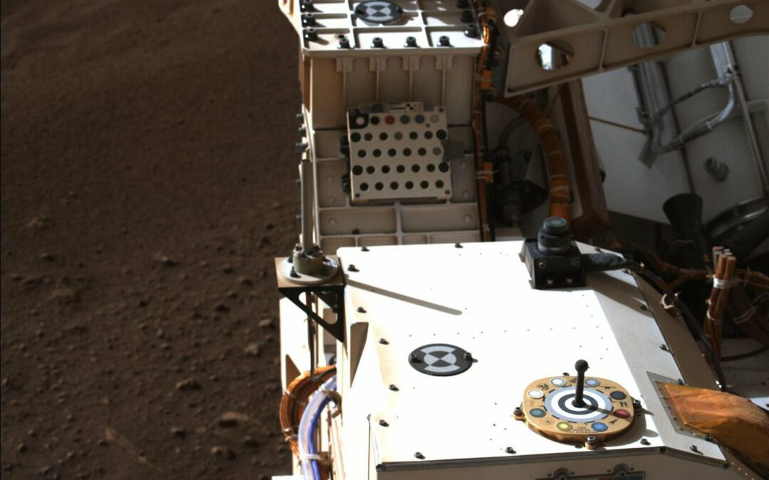 Mars rover will be looking at the product of a tiny N.H. company pretty much every day