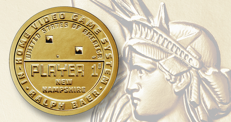 NH video-game pioneer Ralph Baer will be on commemorative coin