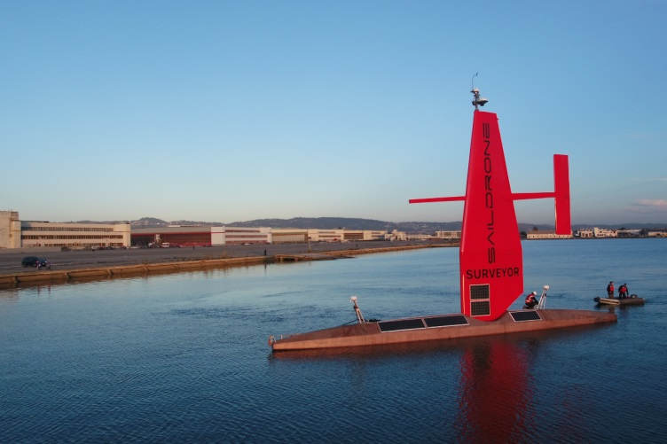 UNH software helps collect seafloor data from remote-controlled sailboat